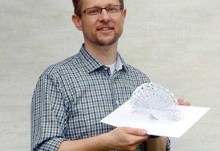 36. Peter Dahmen:<br />Pop Up! Papierkunst, Herzblut und Millionen Klicks