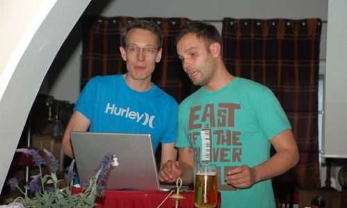 11. Klaus Kretzer und Jakob Maser:<br />Zwischen Mouse und Mischpult – Design und DJing