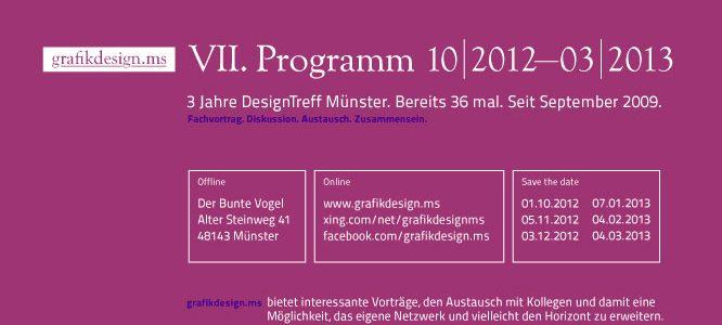 Programm VII (10.2012–03.2013)