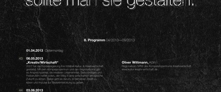 Programm VIII (04.2013–09.2013)